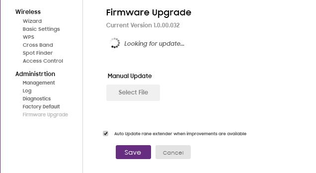 Myrepeater.net Firmware Upgrade